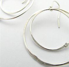 E76 – Solstice silver Earrings | La Jewellery