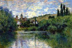 Vetheuil - Claude Monet, 1880