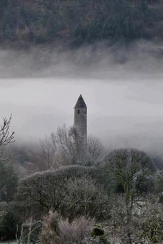 Round Tower at Glendalough, Co. Wicklow, Ireland