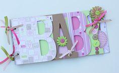 Baby scrapbook album premade scrapbook word by sandysscrapbooks, $39.00