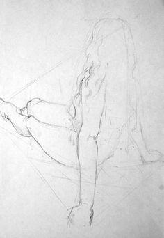 figure drawing- sketchbook page