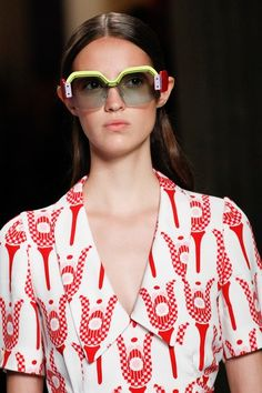 c627b6c978 Miu Miu Spring 2017 Ready-to-Wear Fashion Show. Vintage Shoes WomenSunglasses  2017Trending SunglassesCat Eye ...