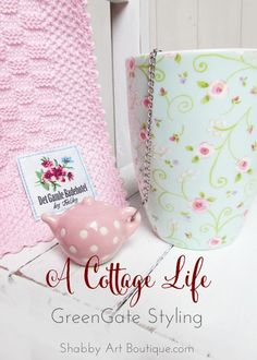 A Cottage Life ~ Styling with GreenGate - Shabby Art Boutique