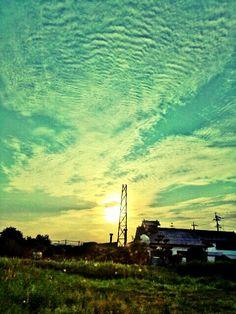 so long  — #sunset #andrography #greeting #photography #streamzoo #clouds #bluesky • MyajaTani on Streamzoo