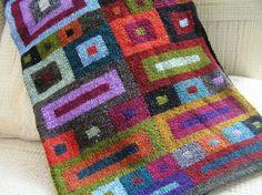 Squares Scarf by Kaffe Fassett by kerri_posts