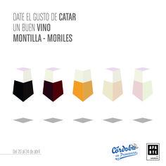 Ilustración diseñada para la Cata del Vino de Córdoba 2016