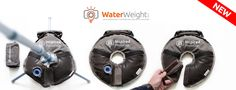 Check out the donut-shaped WaterWeight: a creative re-invention of the standard sandbag for photographers. http://petapixel.com/2014/12/04/waterweight-makes-carrying-around-sandbags-a-thing-of-the-past/