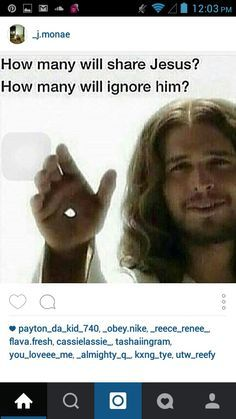 Newsflash--- This ain't the real Jesus. <<== So? Anyone who wants to spread the word of Jesus is a part of Him!