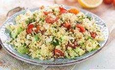 Taboulé léger et rapide WW, recette d'une délicieuse salade pleine de saveurs à base de boulghour et de légumes, facile et simple à réaliser pour une entrée ou pour accompagner un plat de viande.