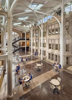100 Year Old Chicago High School Gets A Contemporary Facelift #design # Architecture