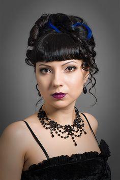 gothic girl, goth, alternative model