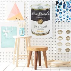 Make every room a gallery with colorful prints.