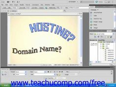 Learn about domain names versus web hosting in Adobe Dreamweaver at www.teachUcomp.com. A clip from Mastering Dreamweaver Made Easy v. CS5. Get the complete tutorial FREE at http://www.teachucomp.com/free - the most comprehensive Dreamweaver tutorial available. Visit us today!