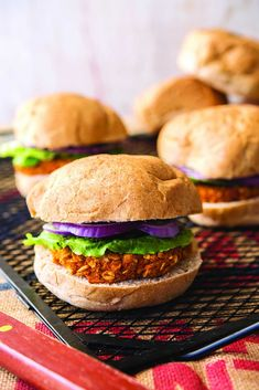 I love a good bean burger, but sweet potato burgers are in a category of their own! These smoky-sweet but spicy burgers will dazzle anyone they're served to,