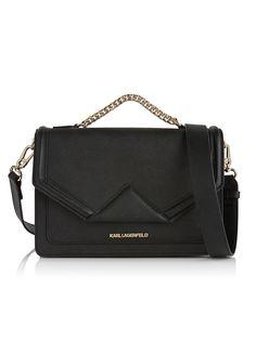 K Classic Shoulder Bag - Black, http://www.veryexclusive.co.uk/karl-lagerfeld-k-classic-shoulder-bag-black/1458349203.prd