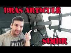 SUPPORT TV MURALE ET TUTORIEL DE MONTAGE - YouTube