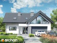 Dom w telimach 2 (G) Small House Design, Modern House Design, Home Fashion, Home Decor Kitchen, House Rooms, Modern Architecture, Planer, Behance, House Styles