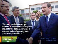 Pedro Passos Coelho, Presidente do Partido Social Democrata durante uma visita a Pequenas e Médias Empresas no Distrito de Leiria. 16 de maio de 2016 #PSD #acimadetudoportugal