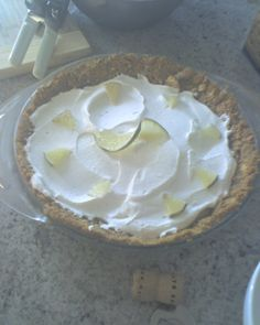 Booze And…: Key Lime Rum Pie