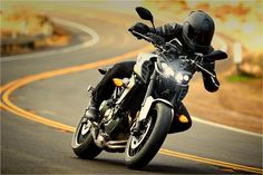 2017 Yamaha FZ-09 Sport Motorcycle - Photo, Picture