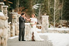 Shore Lodge – McCall, Idaho Wedding Photography – Parker and Michelle's Winter Wedding #winterweddings #snoweddings #winterwonderlandweddings