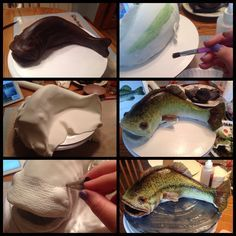Fondant Scales and Chocolate Fish Tails fish cake tutorial Cake Decorating For Beginners, Cake Decorating Techniques, Cake Decorating Tips, Fondant Cakes, Cupcake Cakes, Cake Fondant, Fondant Figures, Cupcakes, Fisherman Cake
