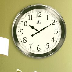 Have to have it. Infinity Instruments-The Argent Wall Clock - $71.99 @hayneedle