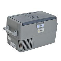 60fecad91e9 Outsunny Portable Electric Cooler Refrigerator   Icebox Freezer - 51 Quart  A great multi-purpose