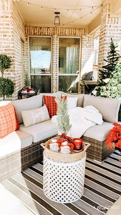 Easy and affordable holiday home decor ideas for any space. #ABlissfulNest #christmasdecor #christmas Diy Christmas Room, Homemade Christmas Decorations, Christmas Time, Christmas Ideas, Small House Decorating, Holiday Decorating, Decorating Tips, Outdoor Spaces, Outdoor Living