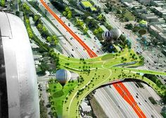 Odile Decq and Bonit Conrnette Architects LA Transport Solutions #architecture trendhunter.com