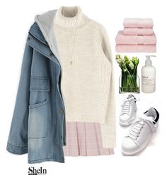 """""""#SheIn"""" by credentovideos ❤ liked on Polyvore featuring LSA International, Givenchy and Le Labo"""