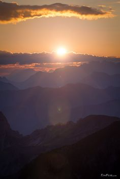 The first sunrays - TomFear Sunrises, Dusk, The One, Mountain, Celestial, Search, Outdoor, Outdoors, Searching