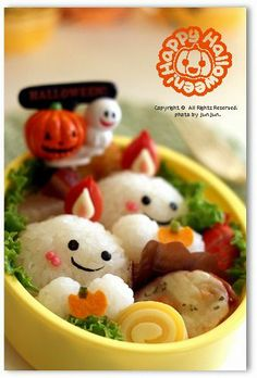 Ghost candle bento