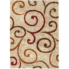 Better Homes and Gardens Swirls Area Rug