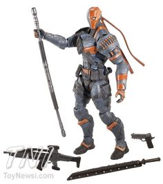 "Mattel 6"" Arkham Origins Batman & Deathstroke Figure First Looks - DC Comics - Action Figures Toys News ToyNewsI.com"
