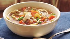 Grandma's Slow Cooker Chicken Noodle Soup - Holiday Cottage