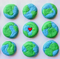 Munchkin Munchies: Earth Day Cookies