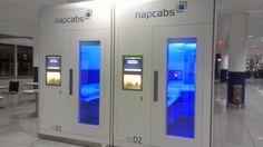 Napcabs. For taking naps in between flights.