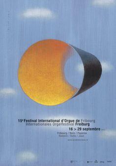 Title:  15e Festival International d'Orgue de Fribourg Artist: Ronald Curchod Housed by: Colorado State University