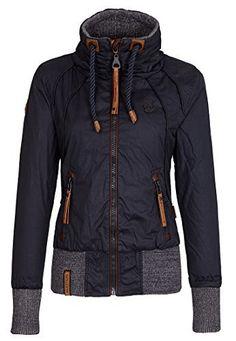 Naketano Women's Jacket Schlagerstar III (M, Dark Blue)