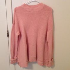 Oversized knit pink sweater BDG Amazing sweater new condition Urban Outfitters Sweaters