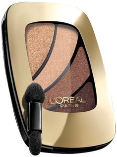 L'Oreal Paris Colour Riche Shadow Quads, Because I'M Worth It, 0.17 Ounce (Pack of 2). L'Oreal Paris Colour Riche Shadow Quads, Because I'M Worth It, 0.17 Ounce (Pack of 2).