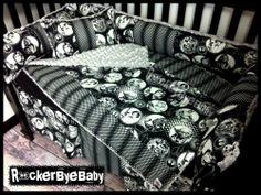 Star Wars inspired Custom Crib Bedding Set