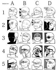 expressions reference drawing somewhere over the rainbow Drawing Face Expressions, Drawing Expressions, Facial Expressions, Drawing Meme, Drawing Tips, Drawing Tutorials, Ship Drawing, Painting Tutorials, Manga Drawing
