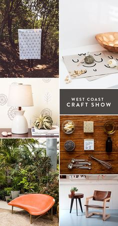 west coast craft show makers - awesome bench (bottom left) by gallant & jones