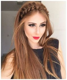 #LongHaircuts #GuysHaircut #GuysHairstyle Gorgeous Braided Rope Headband Long Hairstyles 2017 � 2018 for Fine Hair, click now for info.