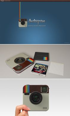 Real Instagram Camera Concept