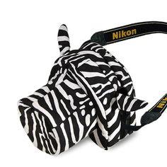 Camera bags cases Nikon Canon Sony Pentax DUSTGO Nugget Zebra