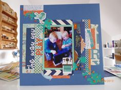 Want to try her idea for cutting up all your pattern paper into box's of all sizes.