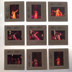 Set of 9 #MacyGrey #negatives #slides by rock music #photographer #RobertMatheu 2001 #RockTheVote